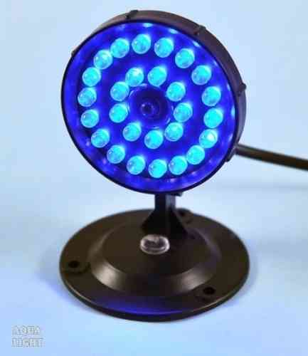AQUA LIGHT 27x Mini-LED MOON - blau