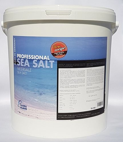 FAUNA MARIN Professional Sea Salt - 25kg