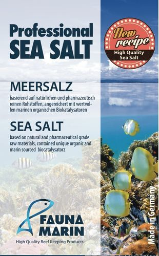 FAUNA MARIN Professional Sea Salt - 20kg
