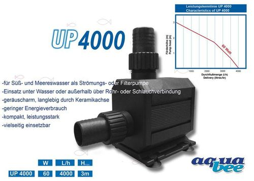 aquabee Universal Kreiselpumpe UP 4000
