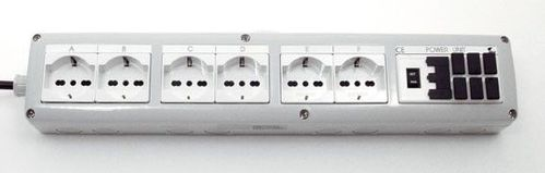 Aquatronica POWER BAR 6 PLUGS SCHUKO