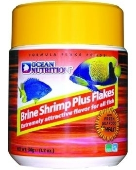 Ocean Nutrition Brine Shrimp Plus Flake 156 g