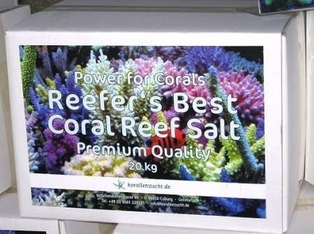 Reefer´s Best Coral Reef Salt Premium Quality 20kg