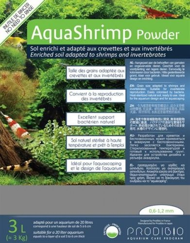 Prodibio AquaShrimp Powder 3 kg inkl. Bacter Kit